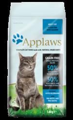 Корм applaws беззерновой для кошек с океанической рыбой