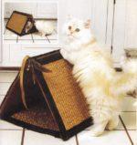 Лежак для кошки мастер класс своими руками выкройки